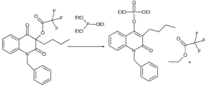 Perkow reaction - Perkow quinoline application