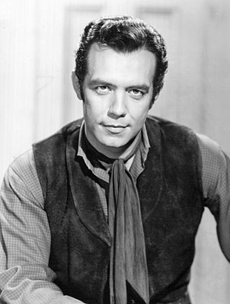 Pernell Roberts - Roberts as Adam Cartwright in a publicity still for Bonanza, 1959