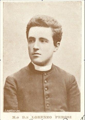 Lorenzo Perosi - Don Perosi (c. 1900).