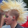 Person with mohawk Stockholm Pride Festival 2009.jpg