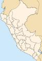 Peru regions, blank.png