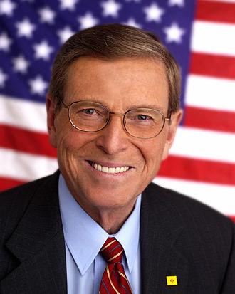 Pete Domenici - Domenici's last official Senate portrait