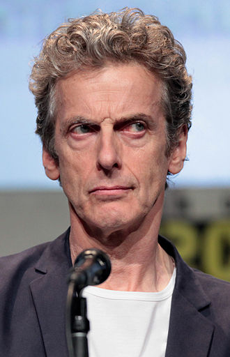 Doctor Who (series 9) - Capaldi at the 2015 San Diego Comic-Con International, where he promoted his second full series.