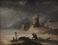 Peter Cramer - Landscape With Skaters - KMS6404 - Statens Museum for Kunst.jpg