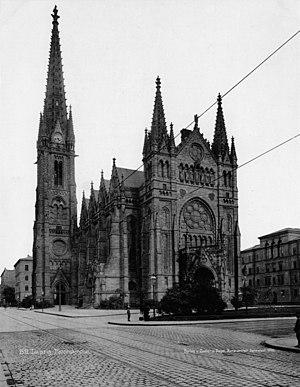 St. Peter, Leipzig - Image: Peterskirche Leipzig Zedler und Vogel