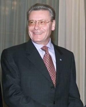Petru Lucinschi - Petru Lucinschi in 2000