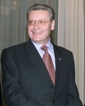 President of Moldova - Image: Petru Lucinschi 2000