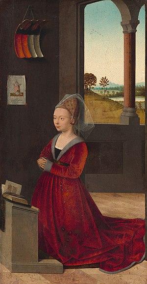Portrait of a Lady (van der Weyden) - Image: Petrus Christus 004