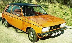 Peugeot 104 - The 104ZS introduced in 1976 was promoted as the sporting Peugeot 104
