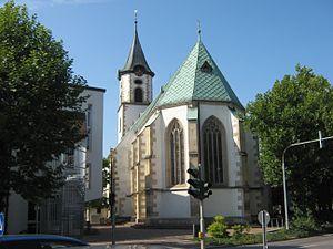 Pfullingen - Pfullingen Martinskirche