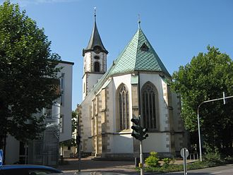Pfullingen - Saint Martin Church