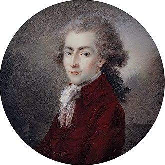 Philip Francis, Prince of Leyen - Philipp von der Leyen und zu Hohengeroldseck (Heinrich Friedrich Füger)