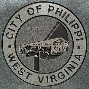 Philippi, West Virginia - Image: Philippi Seal