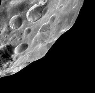 Phoebe (moon) - Image: Phoebe 13 06 2004