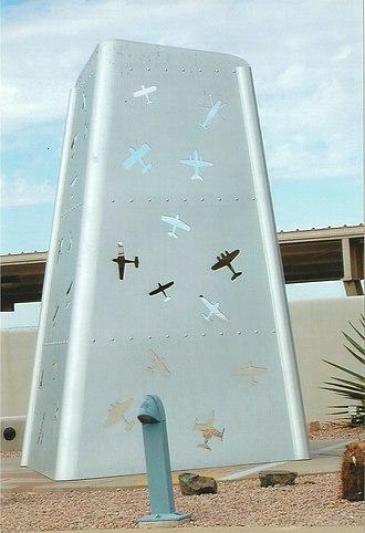 Phoenix Deer Valley Airport - Deer Valley Airport Monument