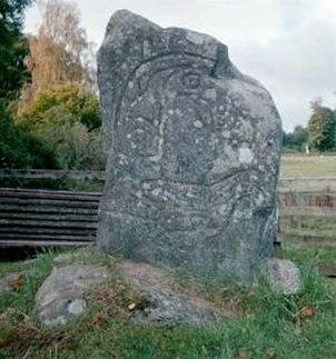 Pictish stone strathpeffer eagle