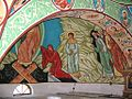 Pictura in Biserica Mânastirii.JPG