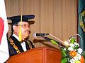 Pidato Rektor di sidang senat terbuka.jpg