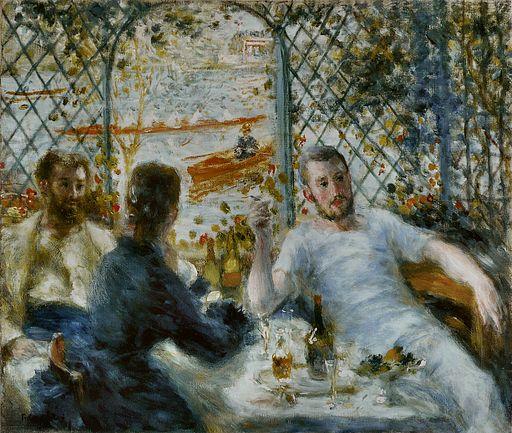 Pierre-Auguste Renoir - Le Déjeuner au bord de la rivière