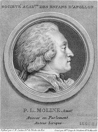 Pierre-Louis Moline - Pierre-Louis Moline, 1780