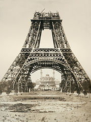 Pierre Petit Eiffel Tower under construction.jpg