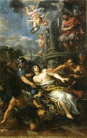 San Gaetano, Florence - Martyrdom of St. Lawrence.