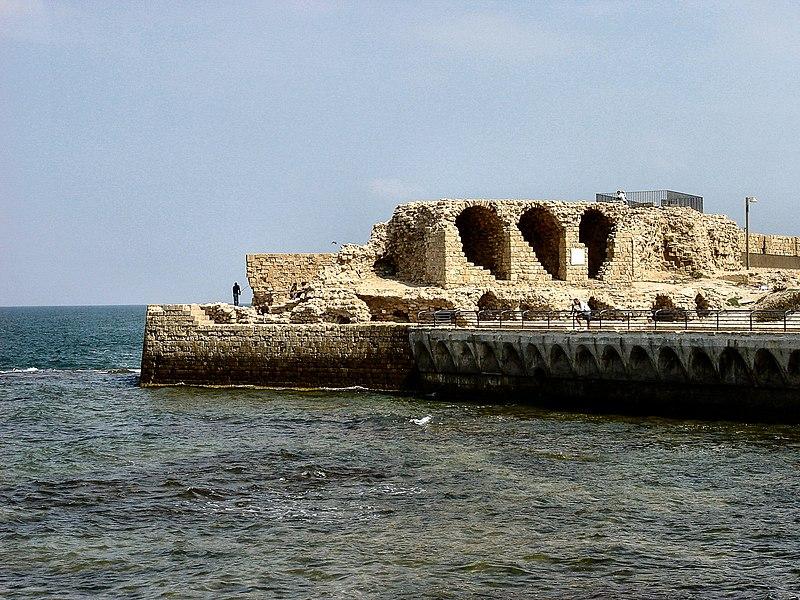 חומת הים המערבית עכו