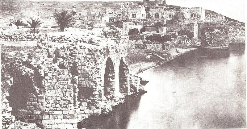 טבריה מבט מדרום 1858