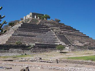 Corregidora Municipality - The pyramid of El Pueblito