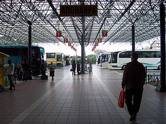 KTEL (Greece) - KTEL bus station in Pyrgos