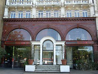 Hyde Park Corner tube station - Former Hyde Park Corner station building