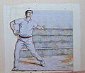 Plafó ceràmic amb pilotaire, Benimassot.JPG