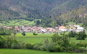 Planina, Postojna - Image: Planina Postojna Slovenia