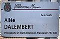 Plaque Allée Alembert - Villiers-sur-Marne (FR94) - 2021-05-07 - 1.jpg