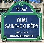 Plaque quai St Exupéry Paris 1.jpg