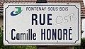 Plaque rue Camille Honoré Fontenay Bois 4.jpg