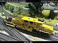 Plasser & Theurer USP 2000 SWS DB Bahnbau Kibri 16060 Modelismo Ferroviario Model Trains Modelleisenbahn modelisme ferroviaire ferromodelismo (13967181519).jpg