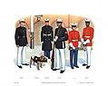 Plate VIII, Marine Barracks Ceremonial Uniforms - U.S. Marine Corps Uniforms 1983 (1984), by Donna J. Neary.jpg