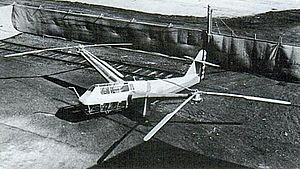 Platt-LePage XR-1 - XR-1 early in testing