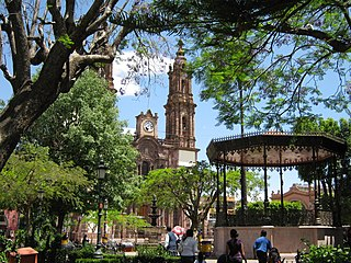 Place in Michoacán, Mexico