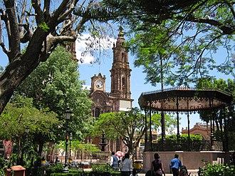Zamora, Michoacán - Plaza de Armas of Zamora