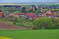 Pohled na obec z rozhledny Vitčice, Srbce, okres Prostějov.jpg