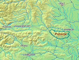 Pohorje - Image: Pohorje