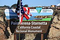 Point Arena-Stornetta sign (13116089823).jpg