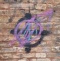 Political graffiti in Venice.JPG