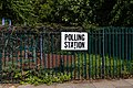 Polling Station Sign, Canonbury, London, European Elections 2019 (2).jpg