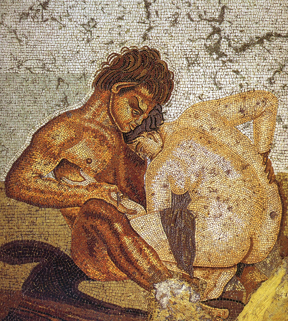Ancient greek lesbian art work