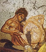 Pompeii - Casa del Fauno - Satyr and Nymph - MAN.jpg