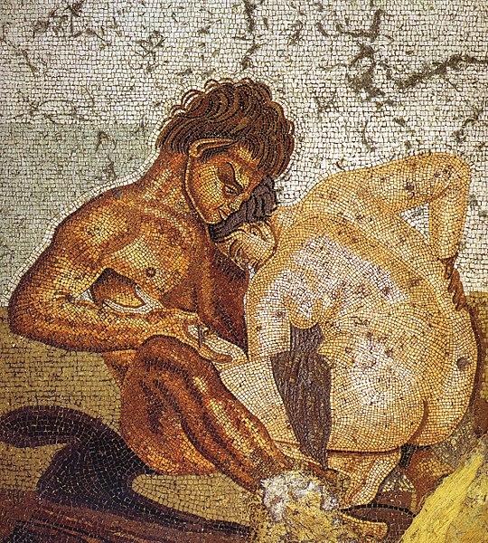 Секс и искусство Древнего Рима Эротическое искусство в Древнем Риме достигл