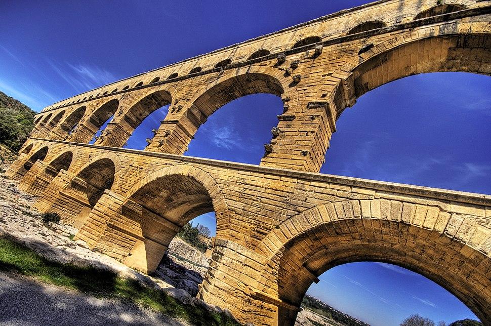Pont du Gard HDR